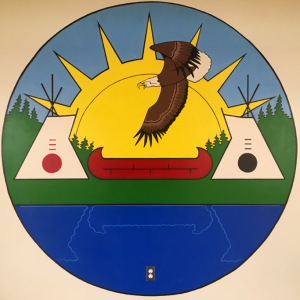 EFN symbolism with an eagle